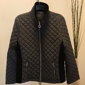 Calvin Klein Jacket grey and black